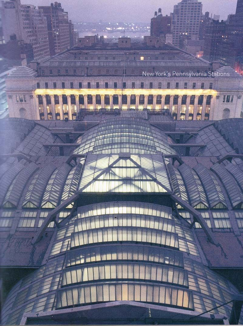 New York Penn Station View Of Glass And Steel Roof Knocked Down To Make Way For Stunningly