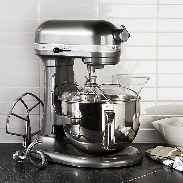 Kitchenaid Professional 600 Stand Mixer Kp26m1xpm Reviews Crate And Barrel Kitchen Aid Kitchenaid Professional Kitchenaid Professional 600