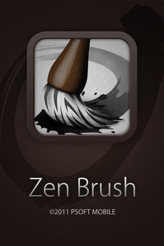 Love this! I can pretend I'm an artiste! Zen brush, Art