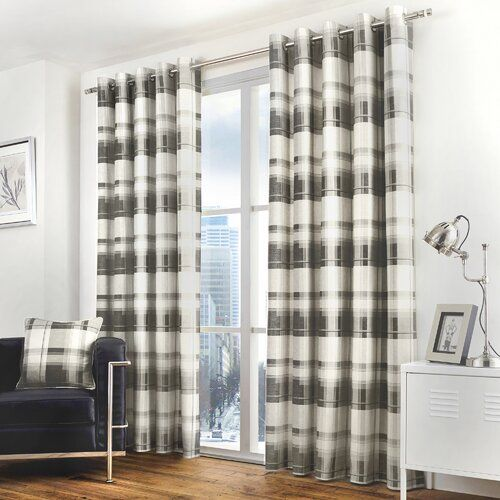 Alpen Home Screven Eyelet Curtain Panels Curtains Panel