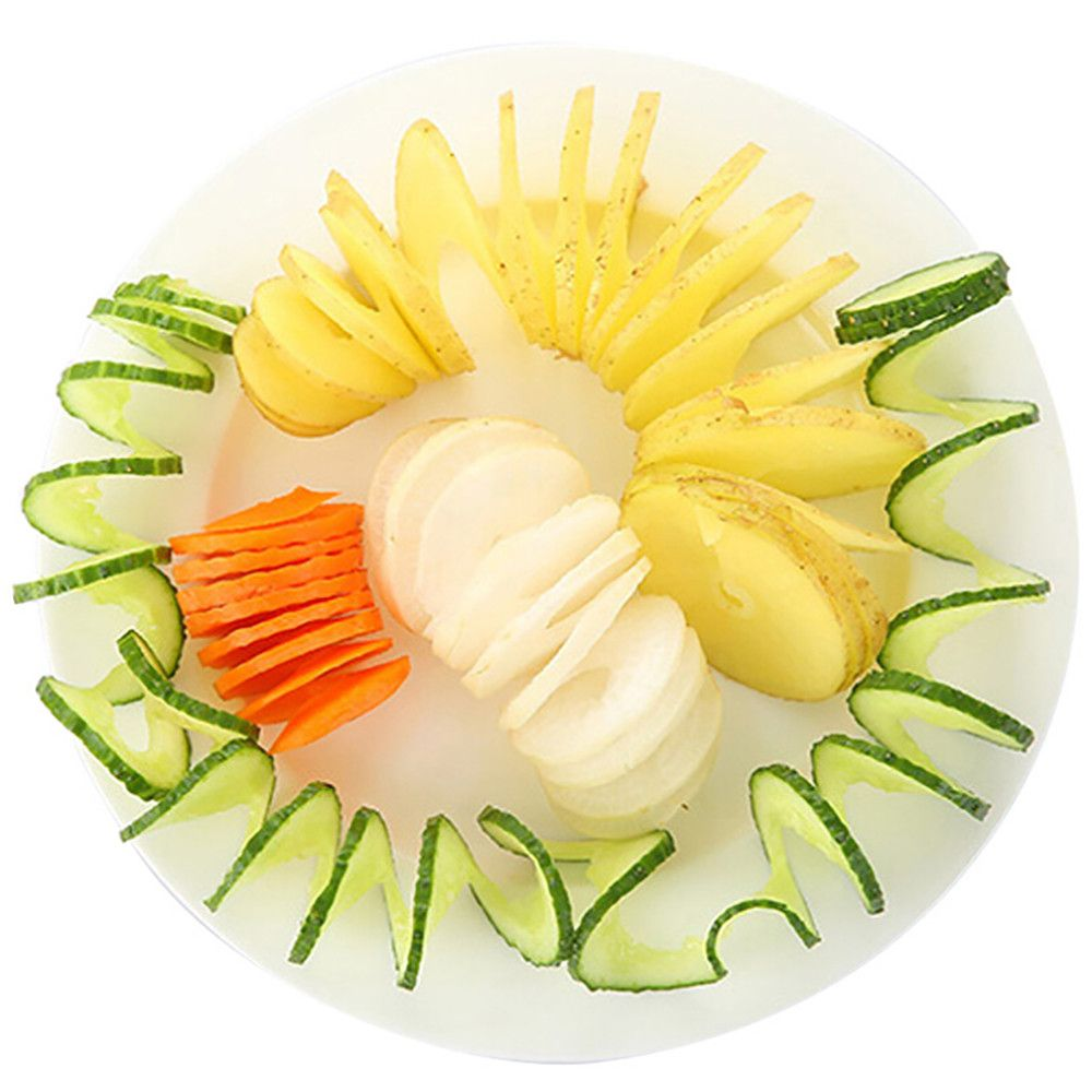 Home Spiral Vegetable Cutter Cooking Tools Potato Cutter