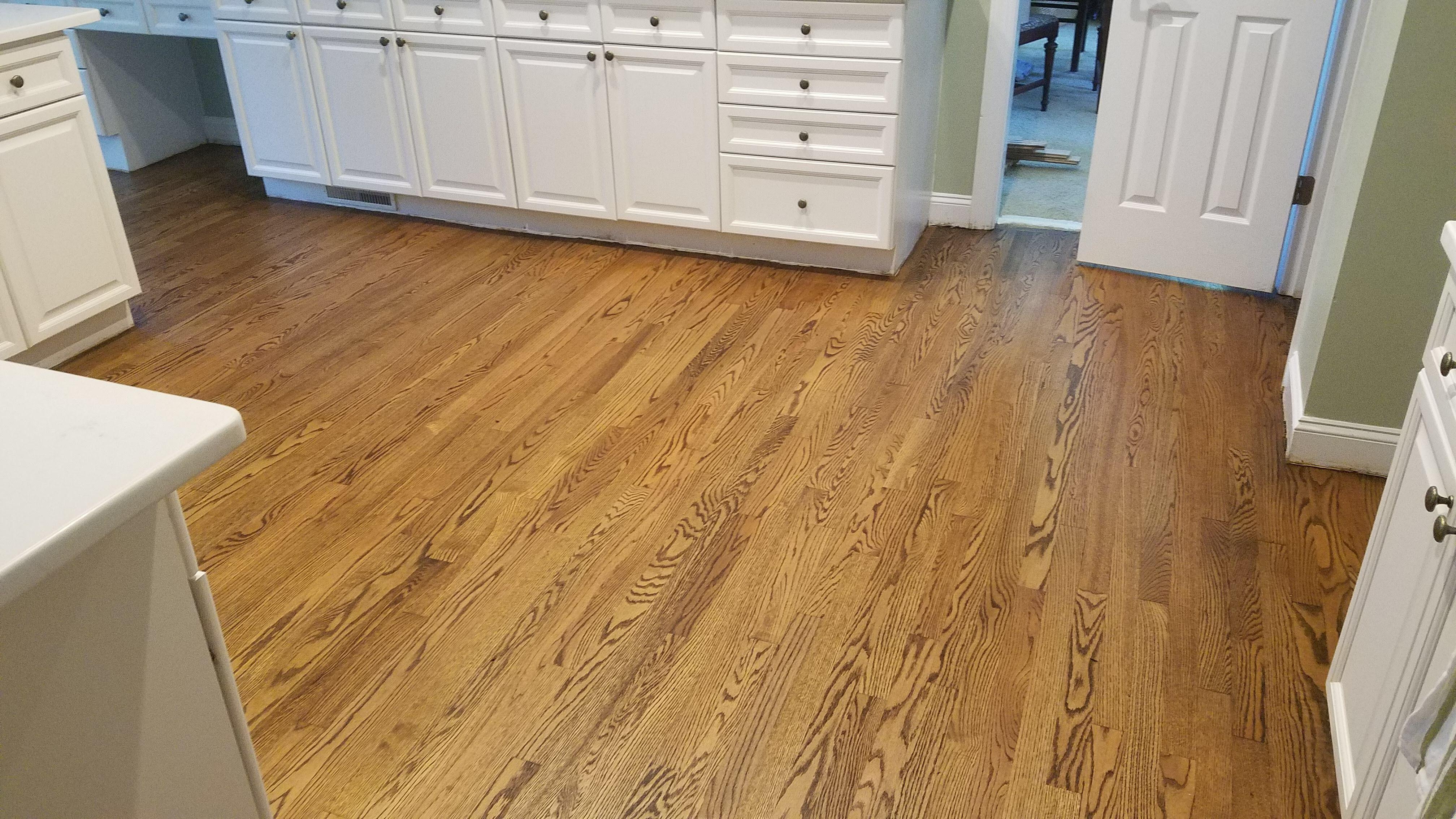 Bona Craft Oil 2k Clay Color On 2 1 4 Red Oak Hardwood Floors In Davidson Nc Oak Hardwood Flooring Red Oak Floors Flooring