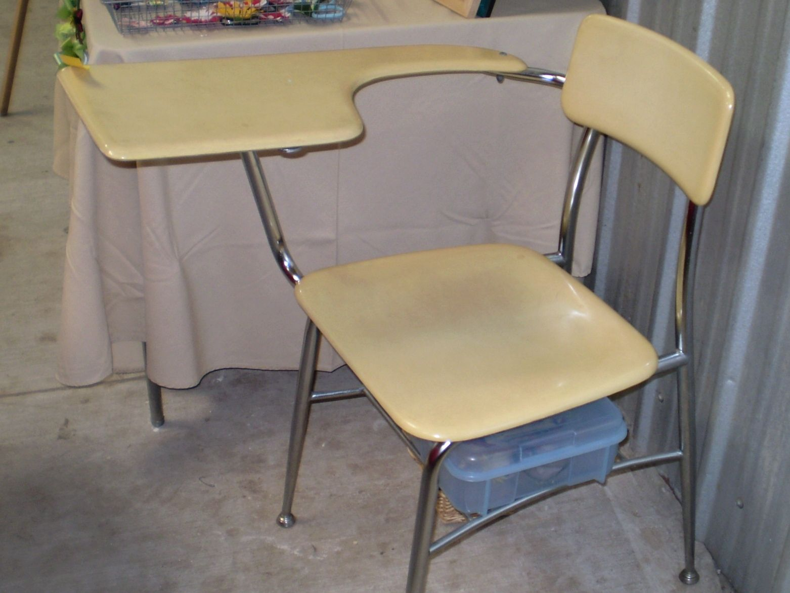 Desks With Chairs Attached Desk Seats Are In Much Demand Now All These Largely Used Offices Flats Housean