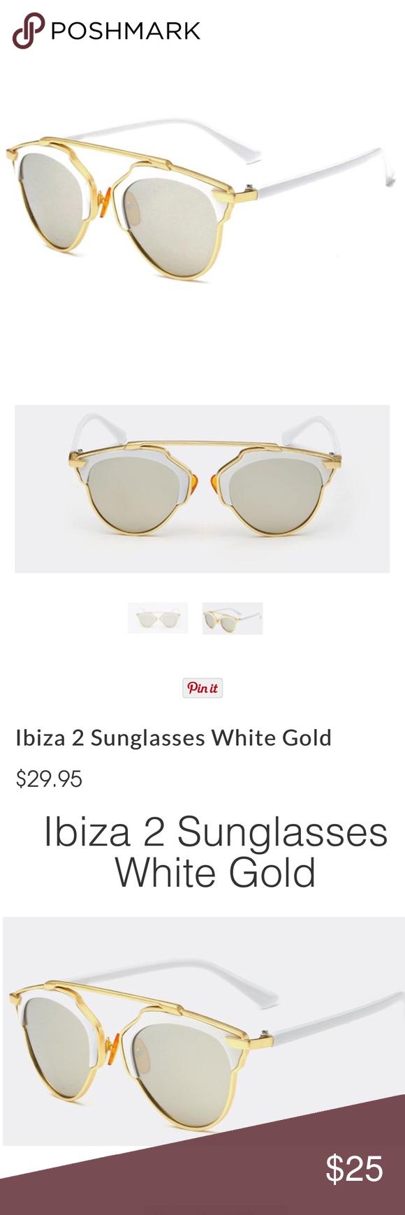 Ibiza Sunglasses NWT Brand new! Product Description  * 100% UVA / UVB Protection * Polycarbonte UV400 Lens * Colors Available: Silver / not quay Quay Australia Accessories Sunglasses