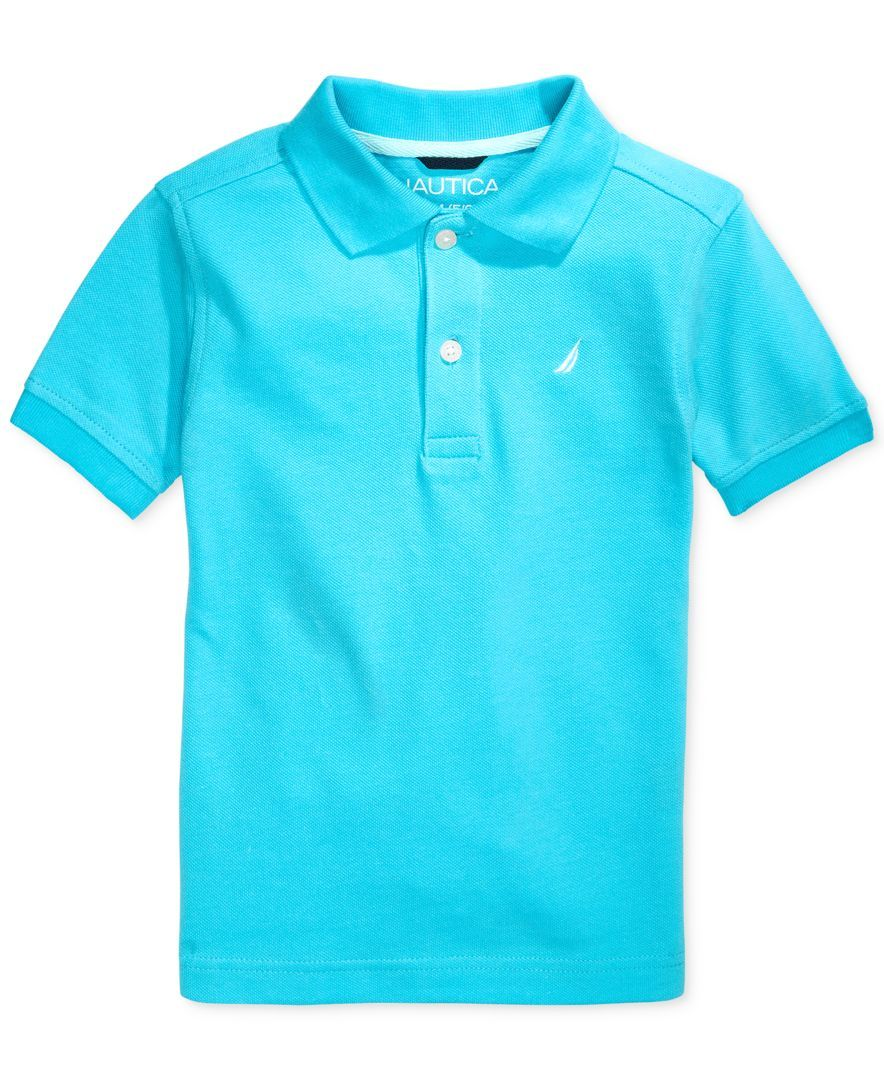 Nautica Little Boys//Toddler Pique Solid Polo Shirt