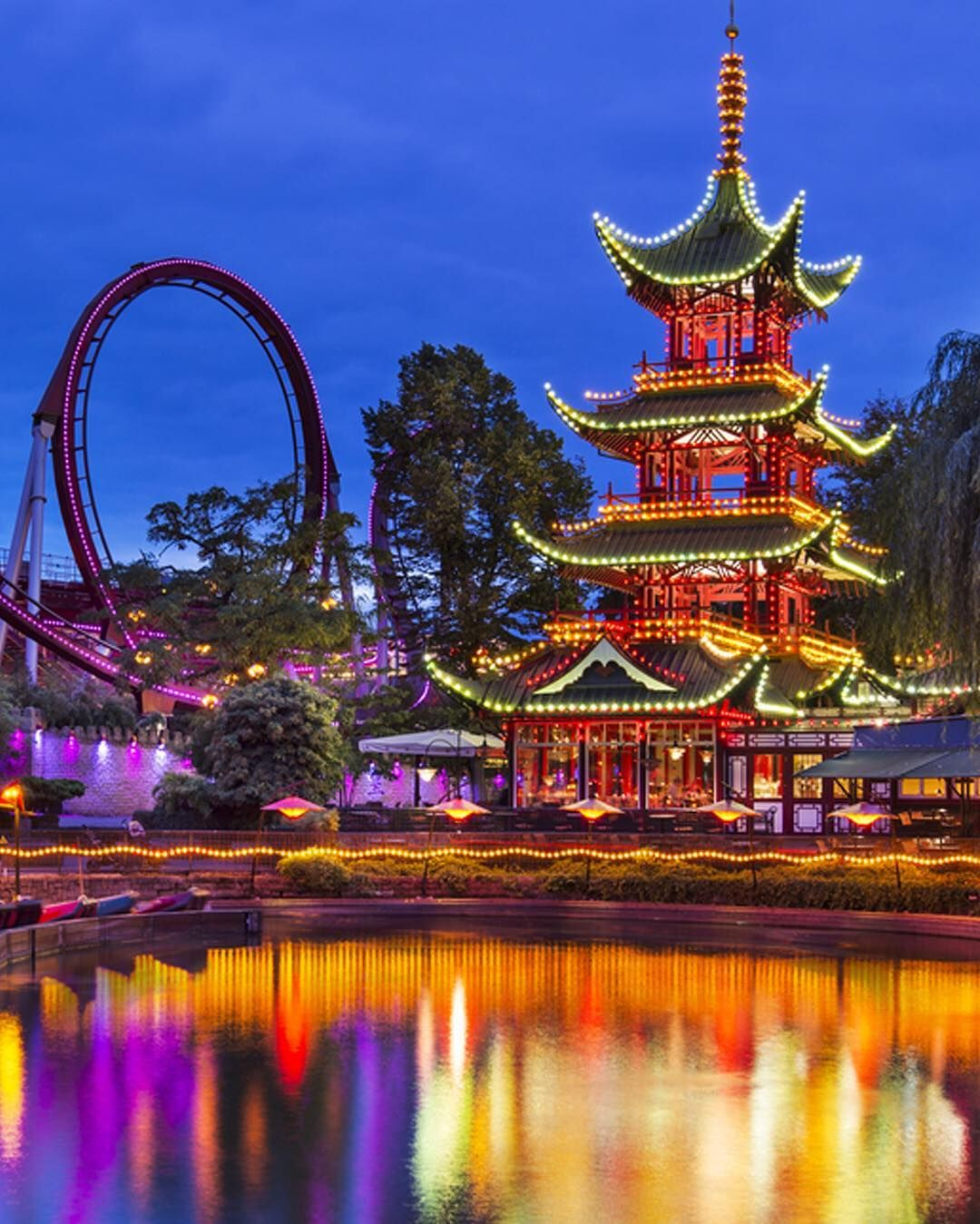 Tivoli Without Rides No Trip To Copenhagen Is Complete Without A Visit To The