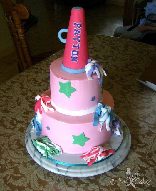 Cheerleading Birthday Cake Ideas Cakepins Cakes Pinterest