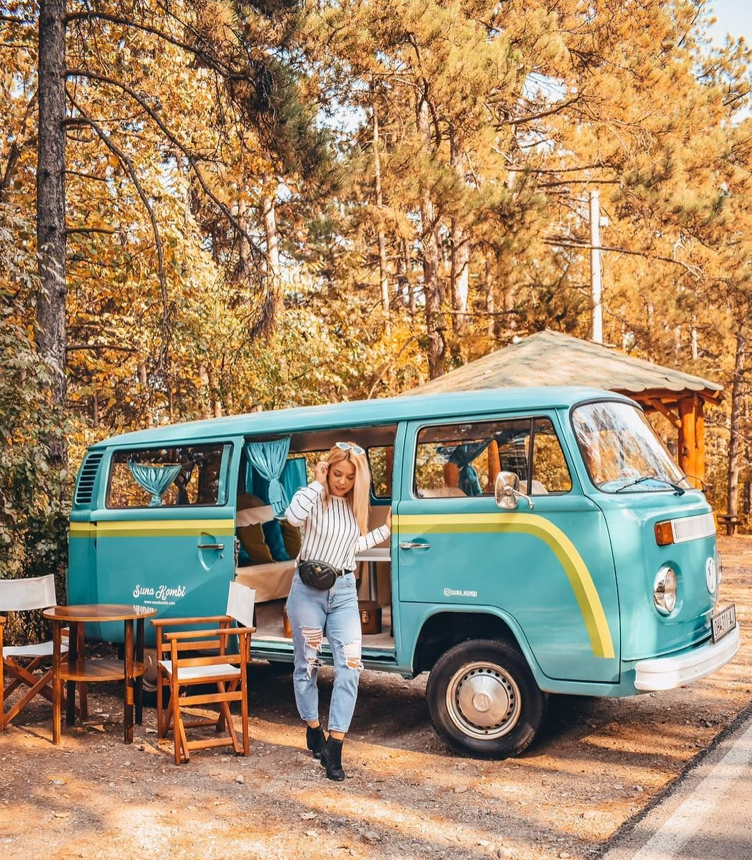 Would You Travel The World In A Van Like This For The Longest Time I Wanted To Try Van Life But I Don T Think I Have The Cou Vintage Vw
