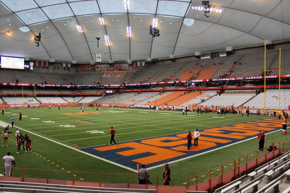 Stadium Gallery Carrier Dome Syracuse University Carrier Dome Stadium Syracuse University