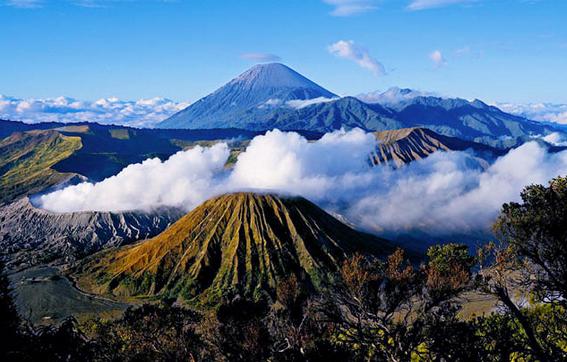 Lokasi Wisata Bromo Tengger Semeru Jawa Timur 1001 C A R A Gunung Berapi Air Terjun Madakaripura Pemandangan