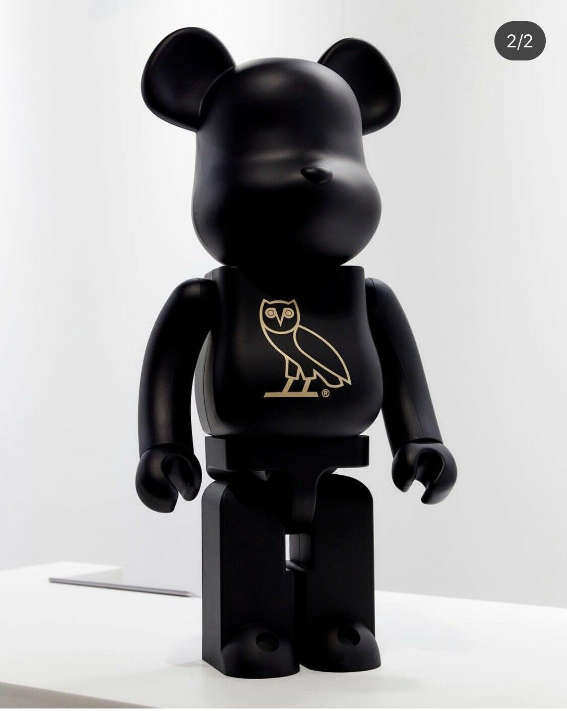 b183b0a6b60 OVO X MEDICOM BEARBRICK 1000% October's Very Own Very Rare Drake IN HAND