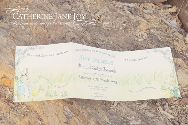 Peter Rabbit Party by Catherine Jane Joy - Serendipity Soiree....Party INvitations and coordinates available in our etsy shop via Serendipity Creative