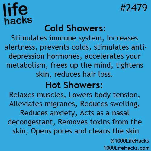 Photo of This is nice to know for future showers, but now I will probably just switch ……