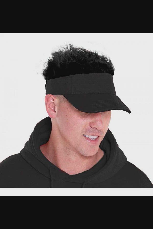 Spiky Hair Visor : spiky, visor, Women's, Visors