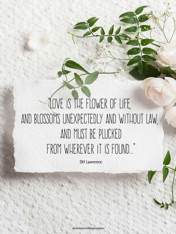 Romantic Wedding Day Quotes That Will Make You Feel The ...