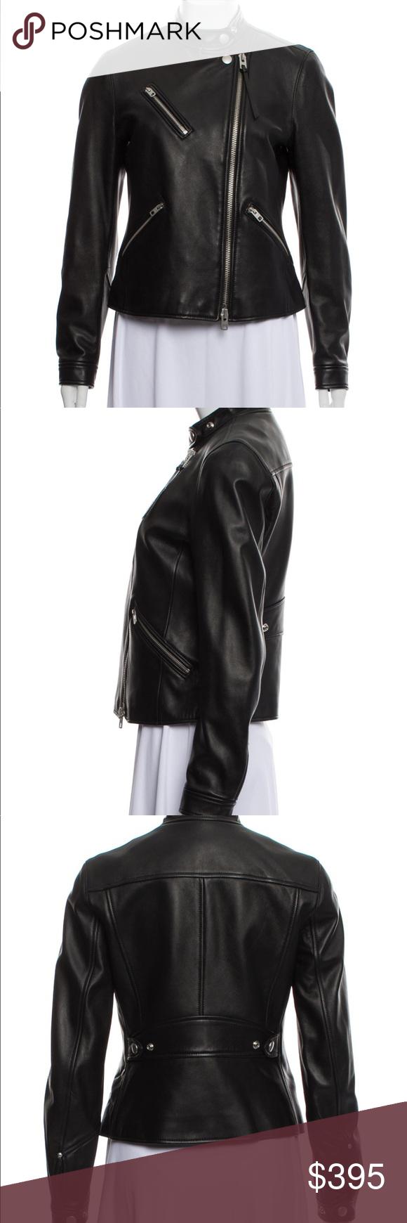 COACH Leather Biker Jacket in 2020 Leather biker jacket