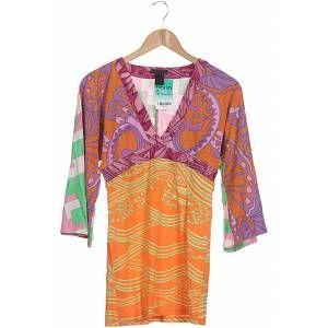 Custo Barcelona Damen Langarmshirt orange kein Etikett INT S