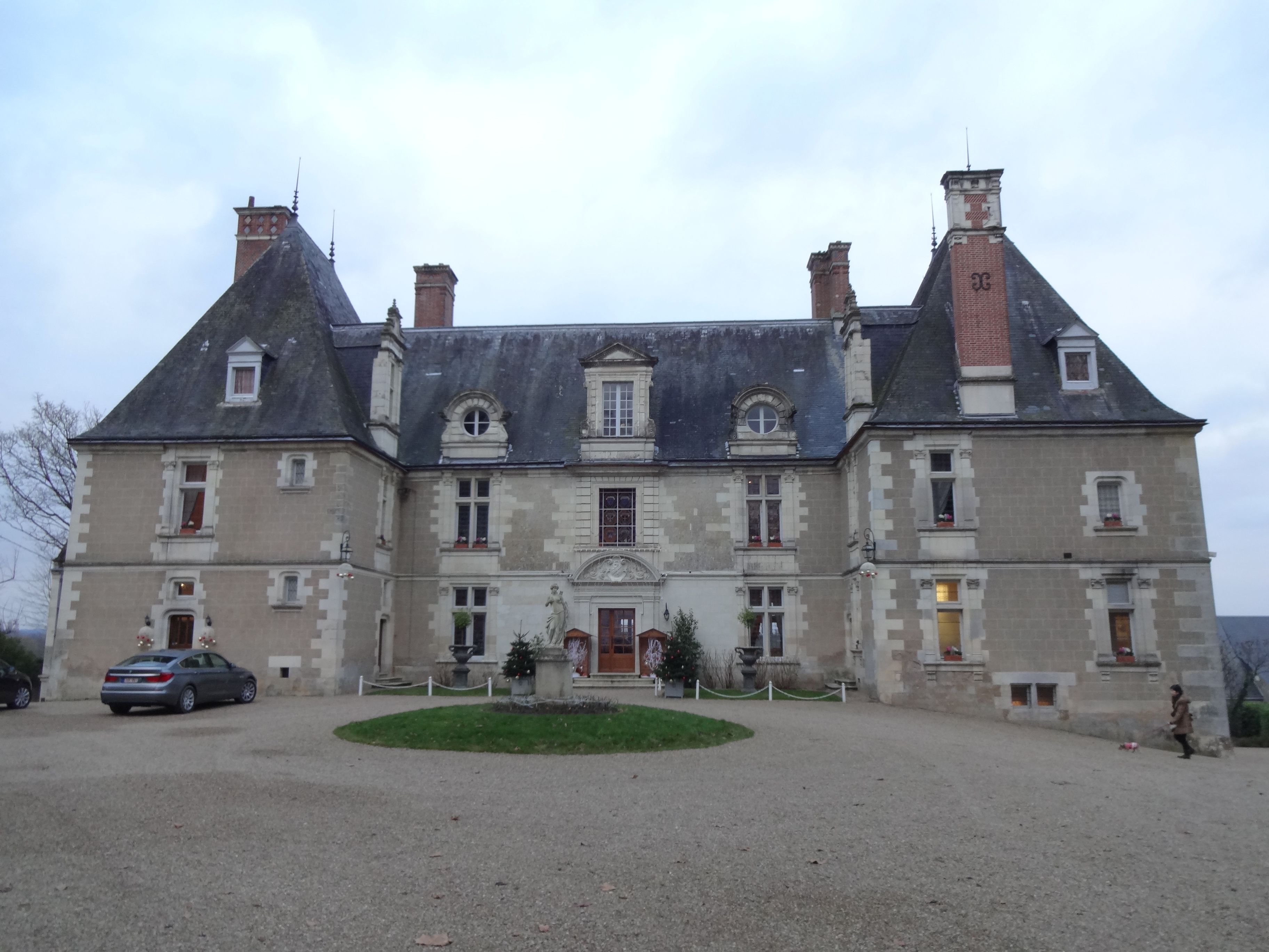 Chateau du Noizay in the Loire Valley..a beautiful hotel/Chateaux