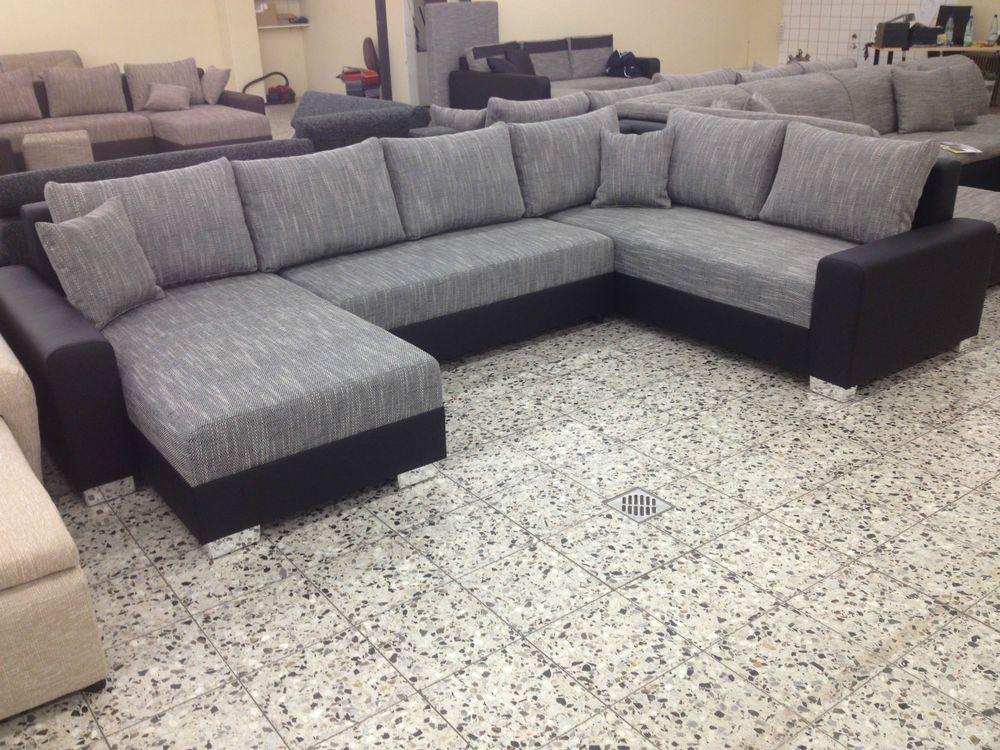 u BETTSOFA SchlafCOUCH Sofa COuch Wohnlandschaft polsterECKe - big sofa oder wohnlandschaft