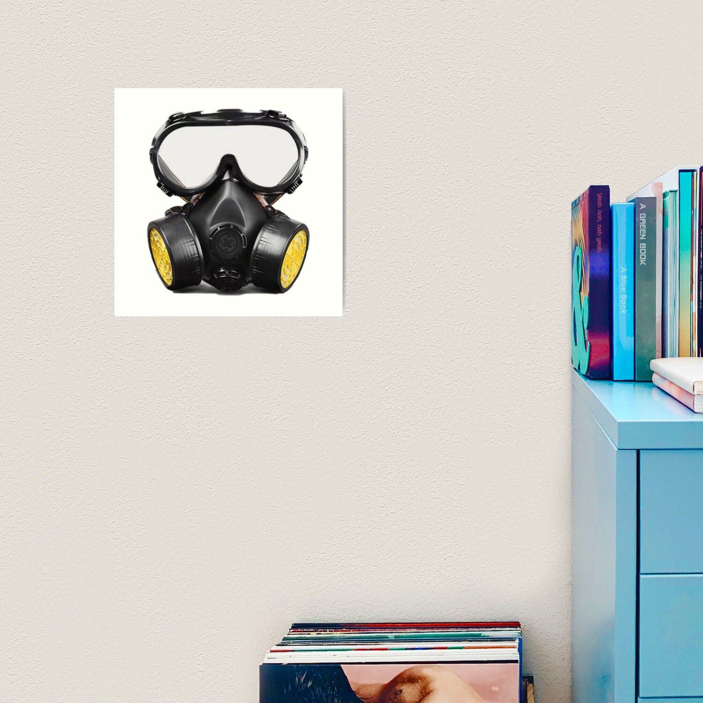 Pubg Lover Battle Royal Gas Mask Engineer Art Print by Panku143