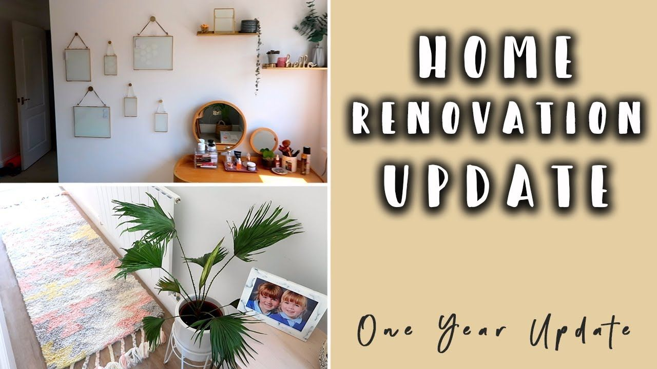 HOUSE RENOVATION UPDATE- ONE YEAR UPDATE. Living Room Wall Decor ...