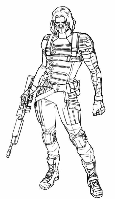 Winter Soldier Image By Caylee Candy Bucky Barnes Fanart Bucky
