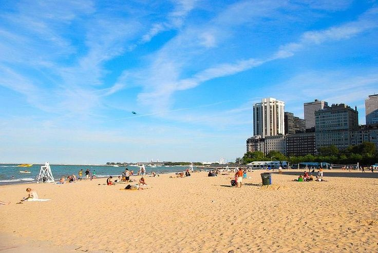 Oak Street Beach In Gold Coast Chicago On Walk Score Map