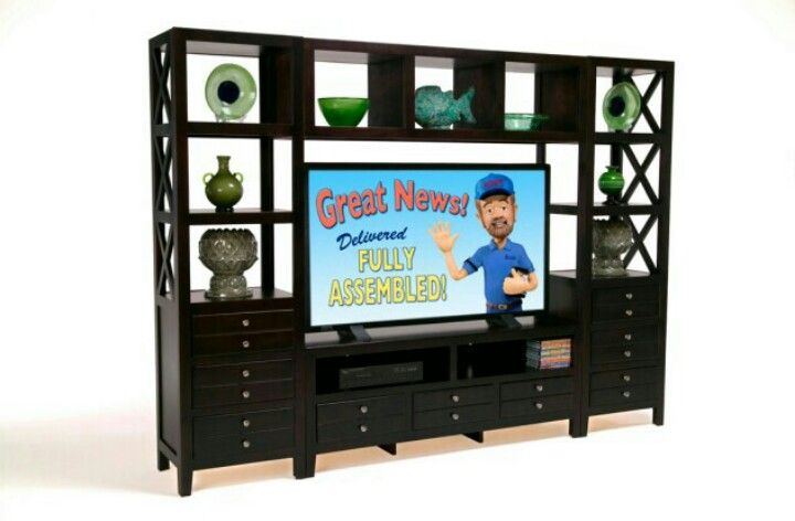 Entertainment Wall Unit From Bobs