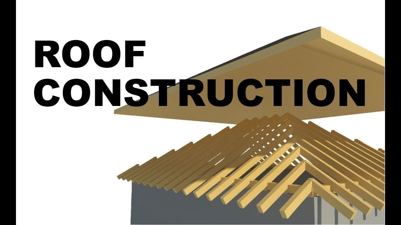 How To Model Roof Construction In Revit Roof Construction Revit Tutorial Roofing Felt