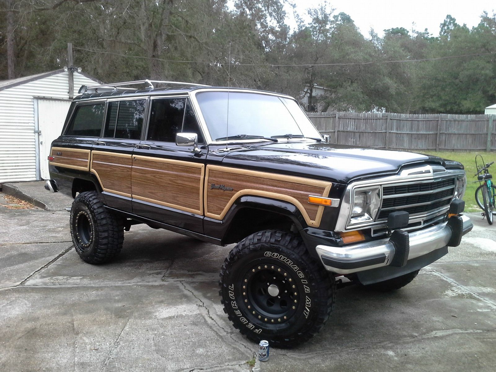 Jeep Wagoneer Lifted With All Original Parts Jeep Wagoneer