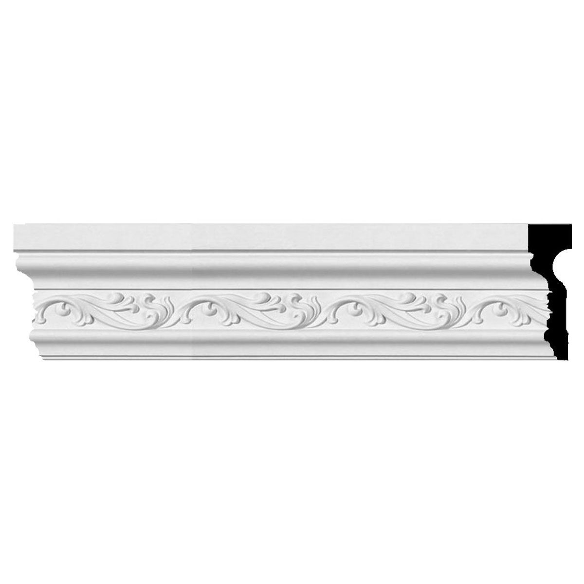 Ordinary 8 Inch Chair Rail Part - 12: 4 1/2-Inch H X 1 1/2-Inch P X 94 3/8-Inch L (4 5/8-Inch Repeat) Tristan Chair  Rail