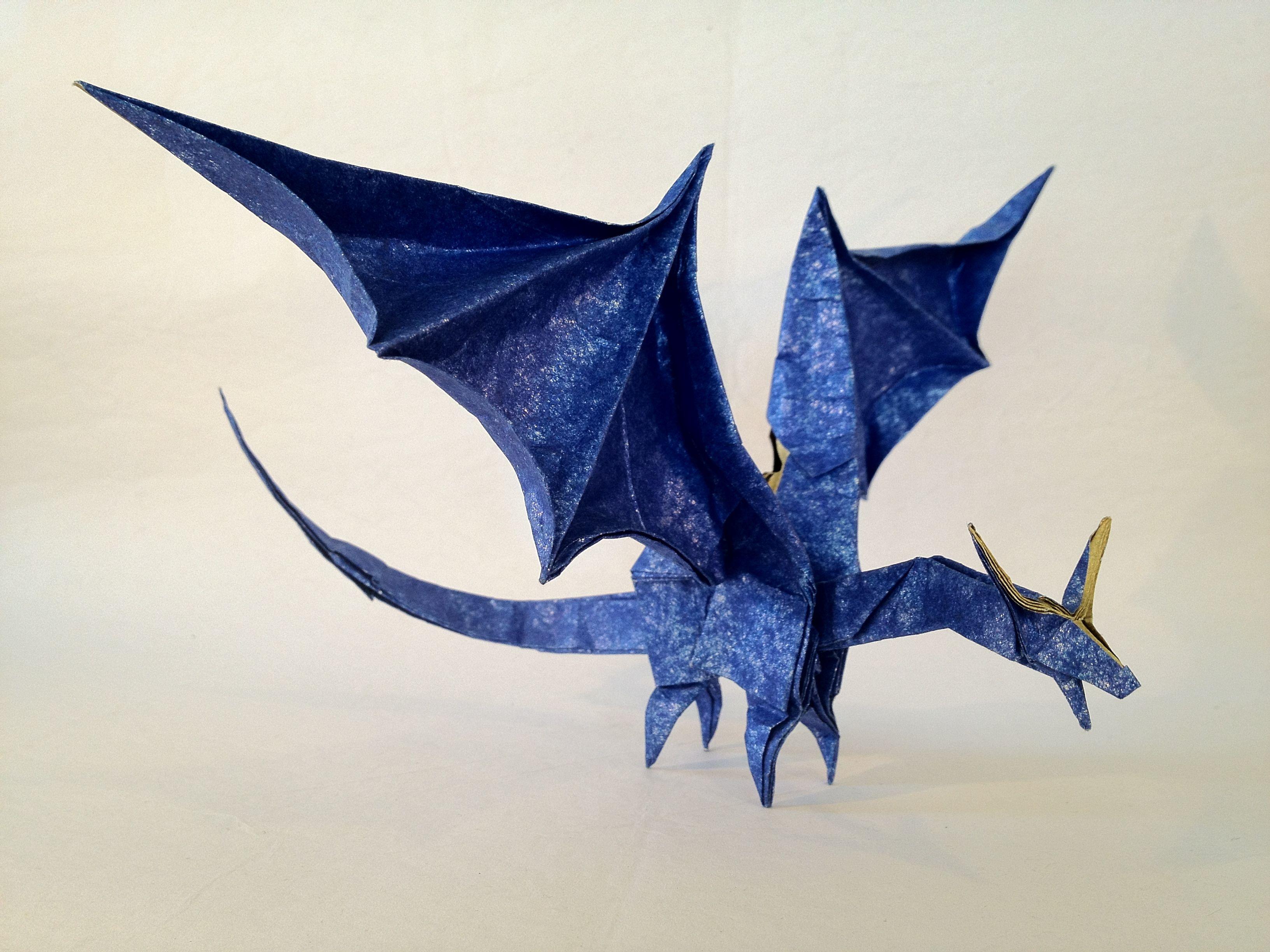 Оригами дракона картинки