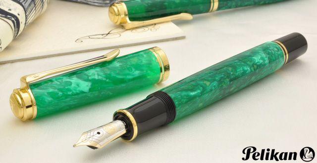 ペリカン 万年筆 特別生産品 スーベレーン600 ヴァイブラントグリーン M600 希望小売価格 48,600円 (税込)