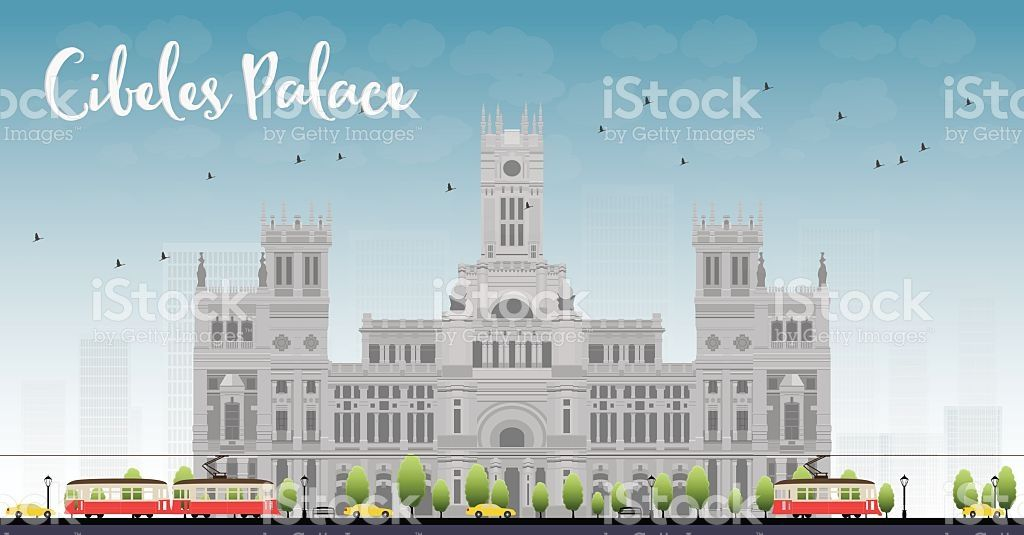 Cibeles Palace Palacio De Cibeles Madrid Spain Royalty