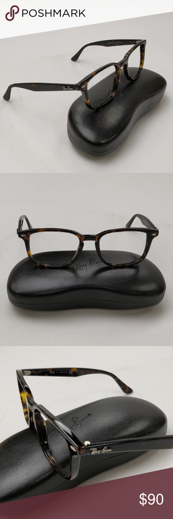 ae301e8a10 RayBan RB5353 2012 Eyeglasses w Case  EUI133 Excellent condition. No  defects. Please check pictures. Frame without lenses. Frame and Temples  color  Tortoise ...