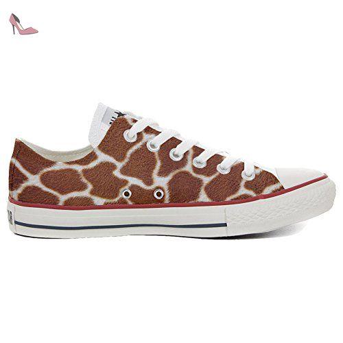 Converse Customized Adulte - chaussures coutume (produit artisanal) avec Chevrolet - size EU 43 5sqZj