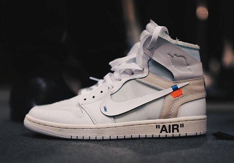 OFF WHITE Air Jordan 1 - White Colorway