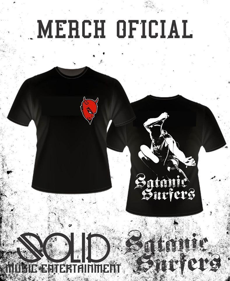 Satanic surfers t shirt