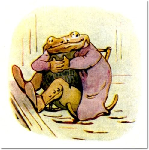 Mr. Toad , Beatrix Potter | Beatrix potter, Beatrice potter ...