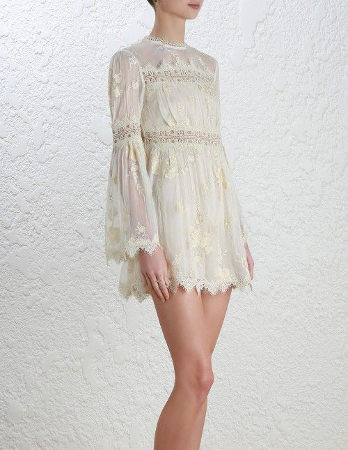 fb6e3aaab7be Zimmermann Tropicale Antique Playsuit. Model Image. Our model is 5 10 5 and  is wearing a size 0