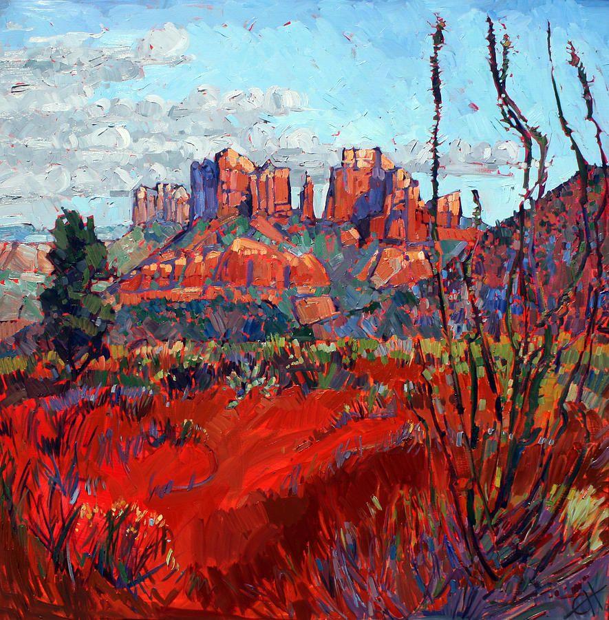 Oil Paintings of Sedona Red Rocks