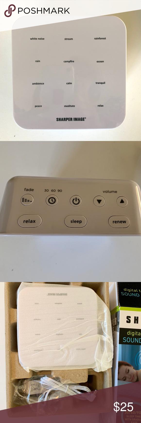 Sharper Image Digital Ultimate Sleep Sound Machine NWOT