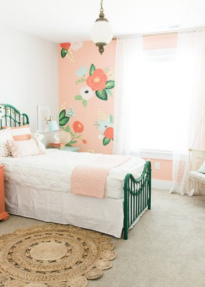 25 Amazing Girls Room Decor Ideas For Teenagers Floral Bedroom