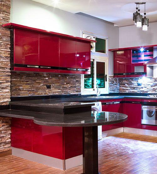 مطبخ أمريكى أكريلك - Acrylic American Kitchen