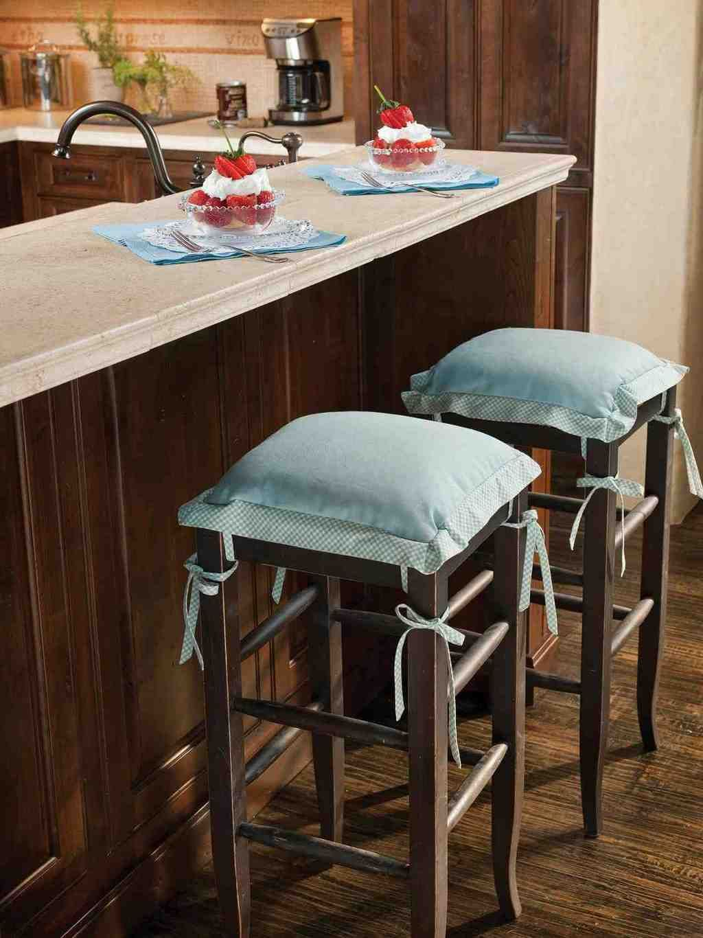 Peachy Bar Stool Cushions Bar Stool Cushions Kitchen Seating Theyellowbook Wood Chair Design Ideas Theyellowbookinfo