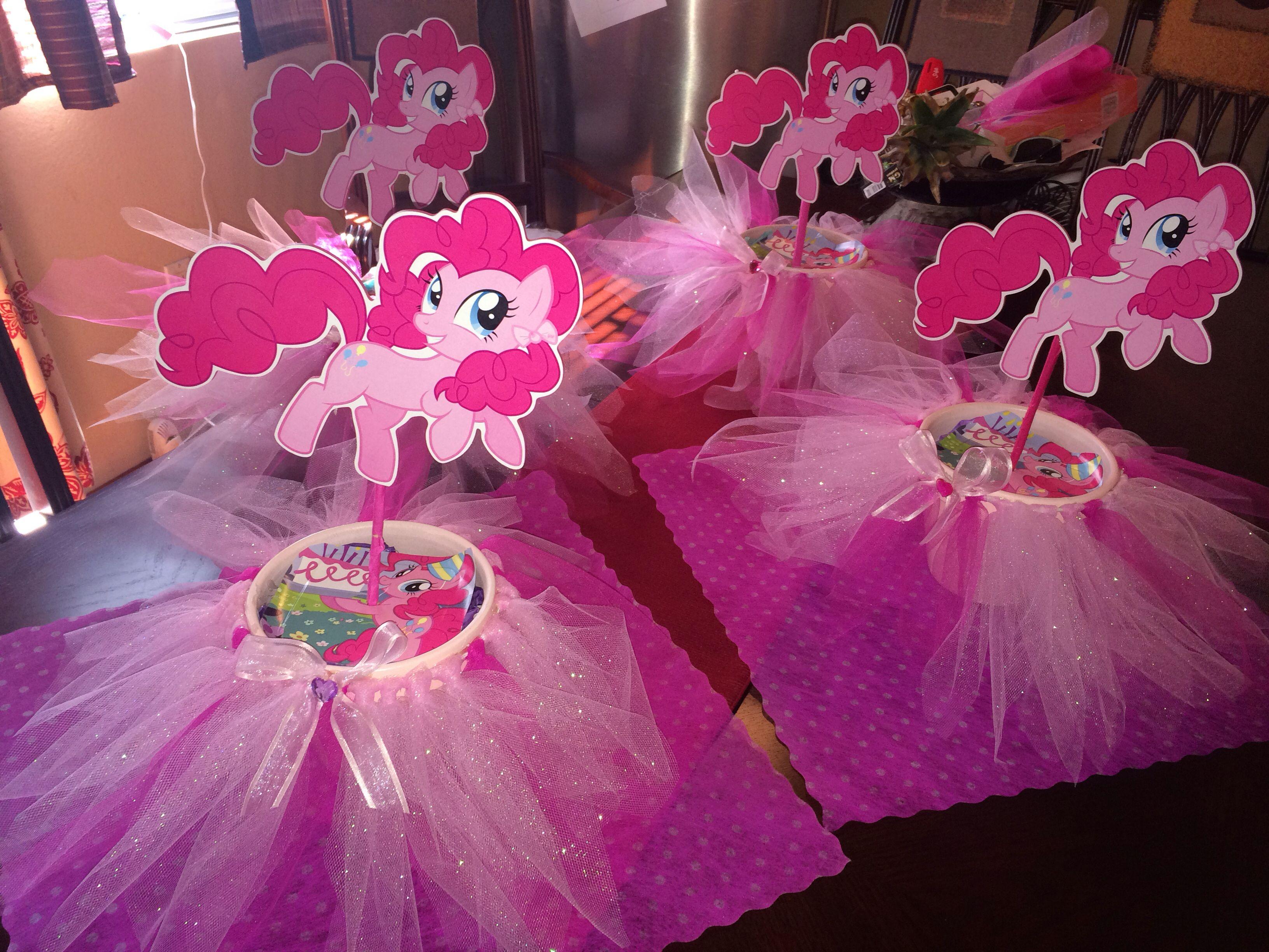 Centros de mesa y bombonera   My little pony   Pinterest   Pony ...