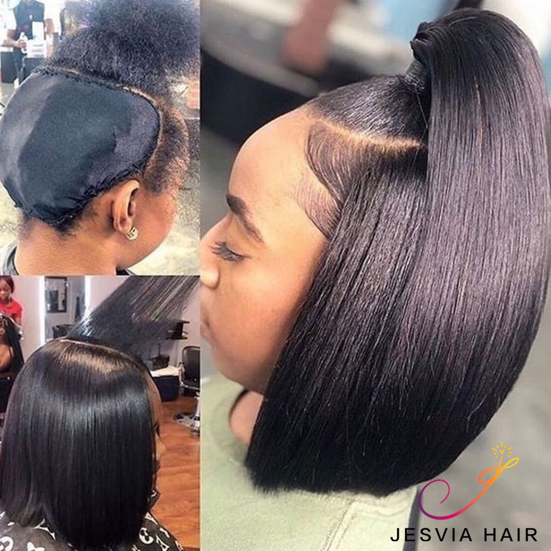 Slay Half Up Half Down Bob Hairstyle Do You Want To Take This Bob It Is Gorgeous Love It Quick Weave Hairstyles Weave Hairstyles Wig Hairstyles