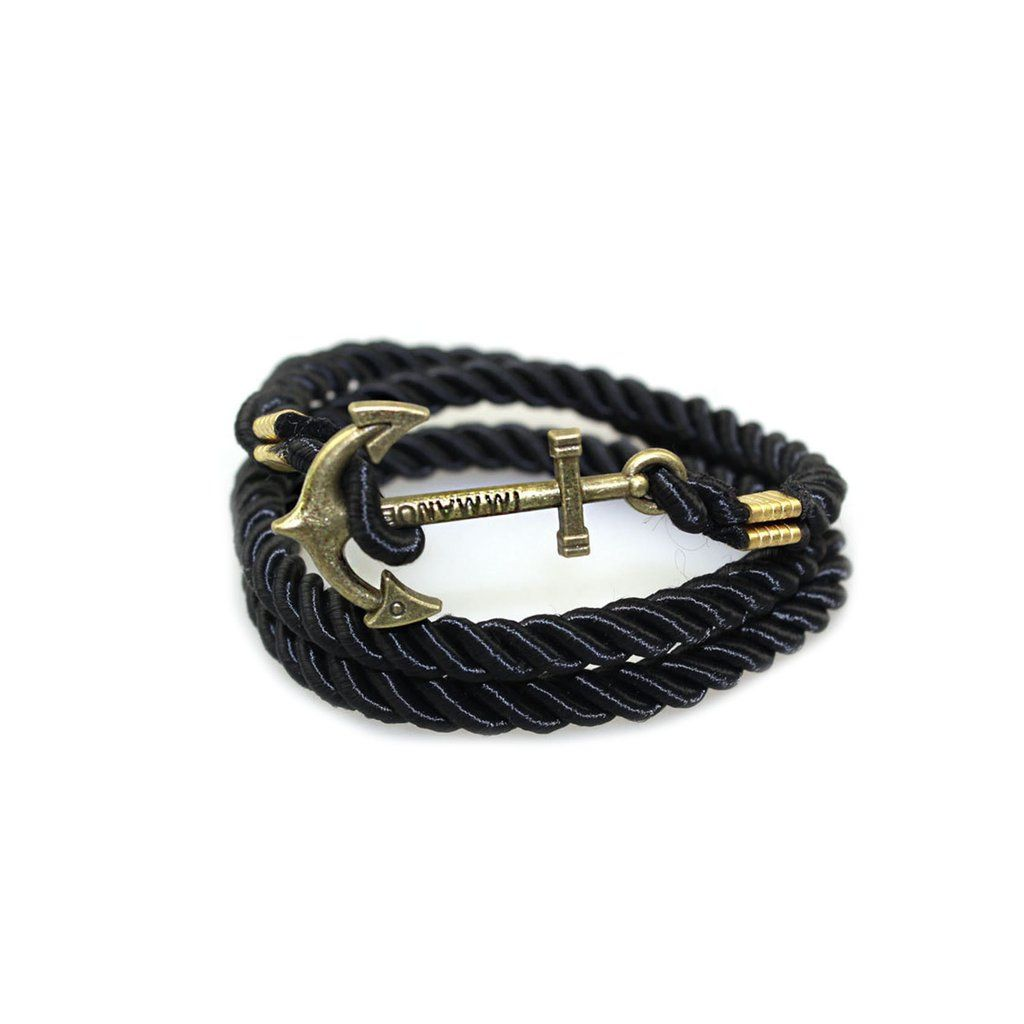 Anchor braided rope bracelet shoppers paradise pinterest