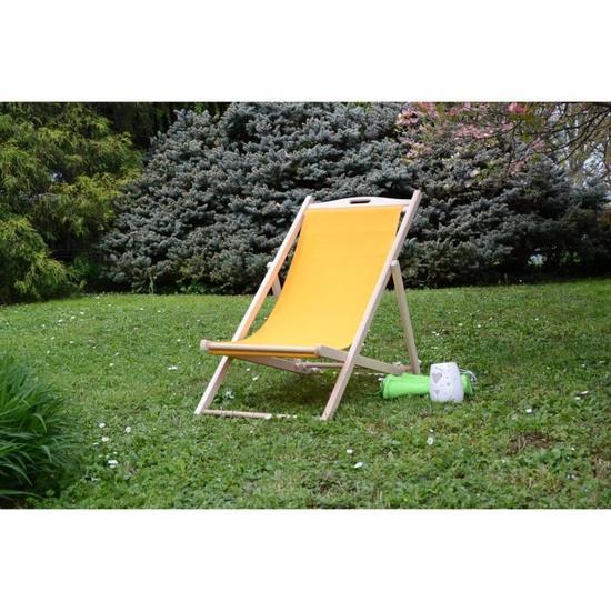 | Chaise longue bois, Chaise d'extérieur