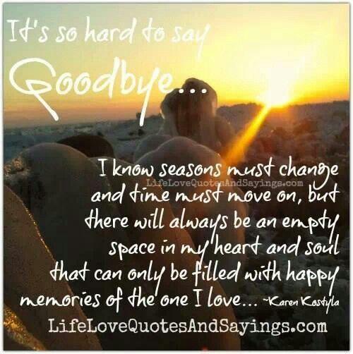 So Very Hard To Say Goodbye Hard To Say Goodbye Goodbye My Love Hard To Love